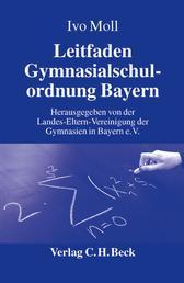 Leitfaden Gymnasialschulordnung Bayern