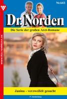 Patricia Vandenberg: Dr. Norden 643 – Arztroman ★★★★