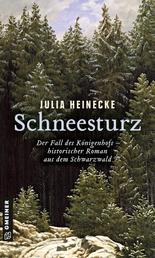 Schneesturz - Der Fall des Königenhofs - Historischer Roman aus dem Schwarzwald