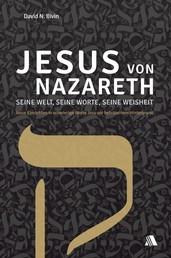 Jesus von Nazareth - seine Welt, seine Worte, seine Weisheit - Neue Einsichten in schwierige Worte Jesu vor hebräischem Hintergrund