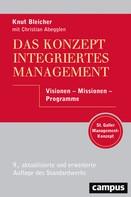 Knut Bleicher: Das Konzept Integriertes Management
