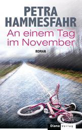 An einem Tag im November - Roman