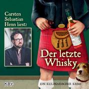 Der letzte Whisky - Ein kulinarischer Krimi