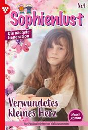 Sophienlust - Die nächste Generation 4 – Familienroman - Verwundetes kleines Herz
