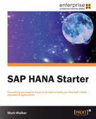 Mark Walker: SAP HANA Starter ★★★
