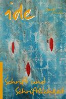 Helen Bito: Schrift und Schriftlichkeit