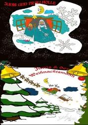 2 neue Abenteuer Geschichten von Junis - JUNIS UND FRAU HOLLE / JUNIS UND DER WEIHNACHTSMANN