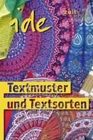 : Textmuster und Textsorten