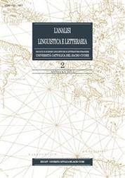 L'Analisi Linguistica e Letteraria 2012-2