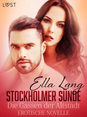 Stockholmer Sünde: Die Gassen der Altstadt - Erotische Novelle