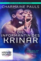 Die Informantin Des Krinar - Ein Roman aus der Welt der Krinar