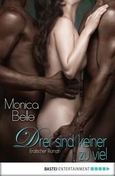 Drei sind keiner zu viel - Erotischer Roman