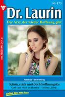 Patricia Vandenberg: Dr. Laurin 173 – Arztroman ★★★★