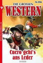 Die großen Western 206 - Cuero geht's ans Leder