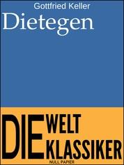 Dietegen - Novelle