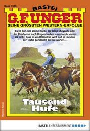 G. F. Unger 1955 - Western - Tausend Hufe