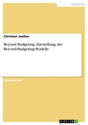 Beyond Budgeting. Darstellung des Beyond-Budgeting-Modells