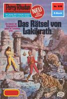 Ernst Vlcek: Perry Rhodan 939: Das Rätsel von Lakikrath ★★★★