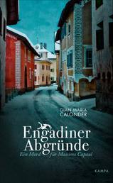 Engadiner Abgründe - Ein Mord für Massimo Capaul
