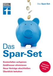 Das Spar-Set für persönliche Sparziele - Finanzielle Unabhängigkeit – Spartipps - Mit Haushaltsbuch von Stiftung Warentest
