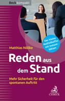 Matthias Nöllke: Reden aus dem Stand ★★★★