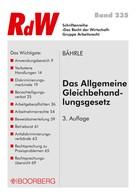 Ralph Jürgen Bährle: Das Allgemeine Gleichbehandlungsgesetz