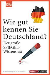 Wie gut kennen Sie Deutschland? - Der große SPIEGEL-Wissenstest