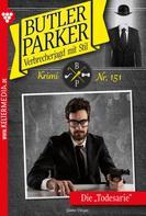 Günter Dönges: Butler Parker 151 – Kriminalroman ★★★★