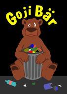 Wlaschek Sascha: Goji Bär - Ein Müllbär räumt auf