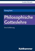 Georg Sans: Philosophische Gotteslehre