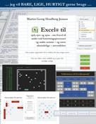 Martin Georg Houlberg Jensen: Excel til spil, sjov og spas