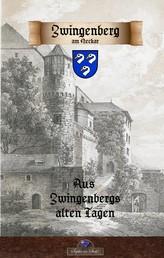 Zwingenberg am Neckar vergangenen Tagen - historisches Deutschland