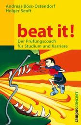 beat it! - Der Prüfungscoach für Studium und Karriere