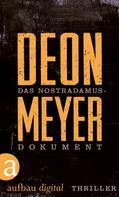 Deon Meyer: Das Nostradamus-Dokument ★★★★★