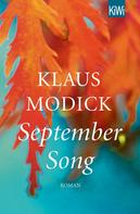 Klaus Modick: September Song ★★★★