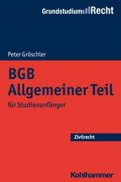 BGB Allgemeiner Teil - für Studienanfänger