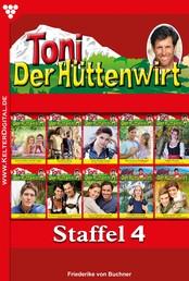 Toni der Hüttenwirt Staffel 4 – Heimatroman - E-Book 31-40
