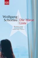 Wolfgang Schorlau: Die blaue Liste ★★★★