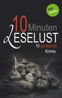Barbara Gothe: 10 Minuten Leselust - Band 2: 10 packende Krimis ★★