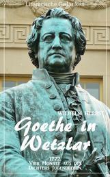 Goethe in Wetzlar (Wilhelm Herbst) (Literarische Gedanken Edition)
