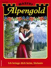 Alpengold 350 - Heimatroman - Ich bringe dich heim, Stefanie