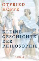 Otfried Höffe: Kleine Geschichte der Philosophie ★★★★