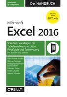 Frank Arendt-Theilen: Microsoft Excel 2016 – Das Handbuch