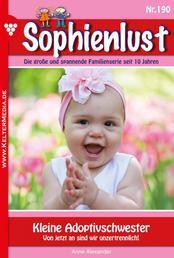 Sophienlust 190 – Familienroman - Kleine Adoptivschwester