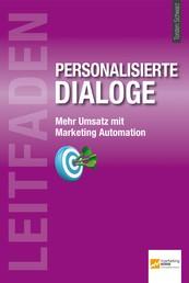 Leitfaden personalisierte Dialoge - Mehr Umsatz mit Marketing Automation