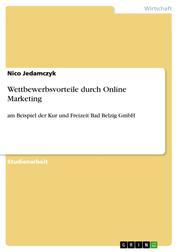 Wettbewerbsvorteile durch Online Marketing - am Beispiel der Kur und Freizeit Bad Belzig GmbH