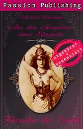 Klassiker der Erotik 35: Aus den Memoiren einer Sängerin - ungekürzt und unzensiert
