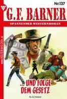 G.F. Barner: G.F. Barner 137 – Western ★★★★★