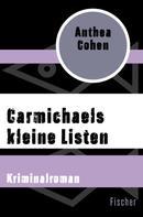 Anthea Cohen: Carmichaels kleine Listen ★★★★