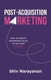 Post-Acquisition Marketing - How to Create Enterprise Value in the First 100 Days